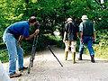 """Željko Sarić za kamerom snima prvi kadar spota """"ribiči"""""""