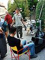 Emil Mišković u kreativnoj raspravi oko zauzetog redateljskog stolca