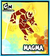 Lik iz serije Ben 10 Magma