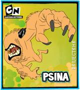 Lik iz serije Ben 10 Psina
