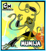 Lik iz serije Ben 10 Mumija