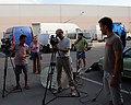 P6 ekipa na snimanju za TV spot Kosmodisk