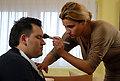 Andrea u akciji šminka