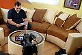 Mihael Bastalić na snimanju