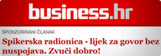 Članak o Spikerskoj radionici na Business.hr